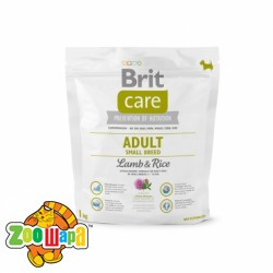 Brit Care Care Adult Small Breed Lamb & Rice 1 kg (д/собак весом до 10 кг)