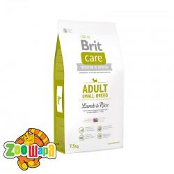 Brit Care Сухой корм для собак малых пород весом до 10 кг Adult Small Breed Lamb & Rice (3 кг) с ягненком и рисом