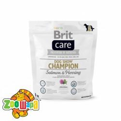 Brit Care Dog Show Champion (1 кг) сухой корм для поддержания взрослых собак всех пород в выставочной форме
