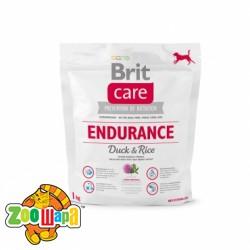 Brit Care Сухой корм для активных собак всех пород Endurance (1 кг) с мясом утки и рисом