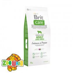 Brit Care Сухой корм для собак весом от 25 кг Adult Large Breed Salmon & Potato  GF (3 кг) с лососем и картофелем
