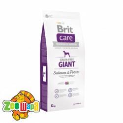 Brit Care Care GF Giant Salmon & Potato 3 kg  (д/собак весом от 45 кг)