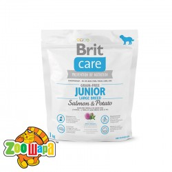 Brit Care GF Junior Large Breed Salmon & Potato 1 kg (д/щенков гигантских пород)