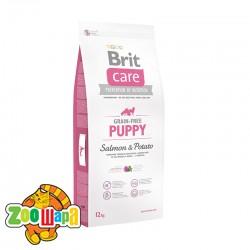 Brit Care Сухой корм для щенков Puppy Salmon & Potato GF (3 кг) с лососем и картофелем