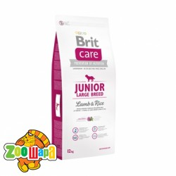 Brit Care Сухой корм для щенков гигантских пород Junior Large Breed Lamb & Rice (12 кг) с ягненком и рисом