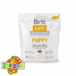 Brit Care Сухой корм для щенков Puppy Lamb & Rice (1 кг) с ягненком и рисом