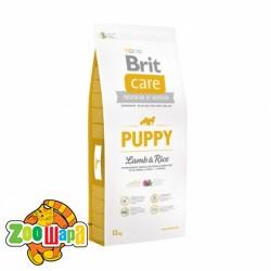 Brit Care Puppy Lamb&Rice (12 кг) сухой корм с ягненком и рисом для щенков и юниоров всех пород