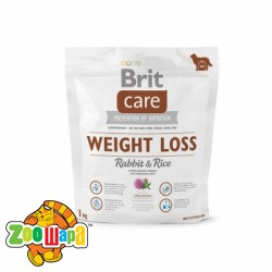 Brit Care Care Weight Loss Rabbit & Rice 1 kg  (д/соб. с лишним весом)
