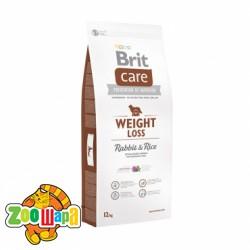 Brit Care Weight Loss Rabbit&Rice (12 кг) сухой корм с кроликом и рисом для собак с избыточным весом всех пород