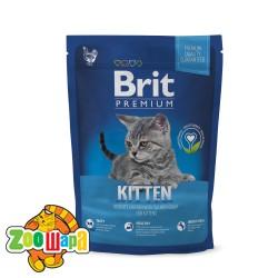 Brit Premium Cat Kitten (300 г) сухой корм с курицей для котят всех пород