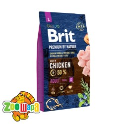 Brit Premium Adult S (8 кг) cухой корм для взрослых собак маленьких пород