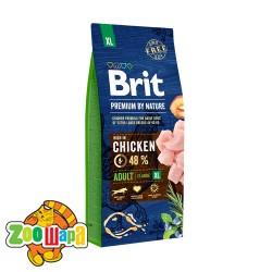Brit Premium Adult XL (15 кг) cухой корм для взрослых собак гигантских пород