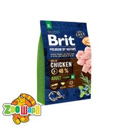Brit Premium Adult XL (3 кг) cухой корм для взрослых собак гигантских пород