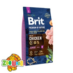 Brit Premium Junior S (8 кг) cухой корм для щенков и юниоров маленьких пород