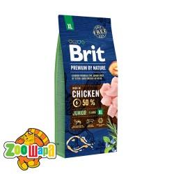 Brit Premium Junior XL (15 кг) cухой корм для щенков и юниоров гигантских пород
