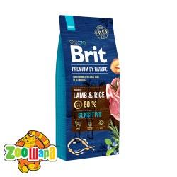 Brit Premium Sensitive Lamb & Rice (8 кг) cухой корм для собак с чувствительным пищеварением