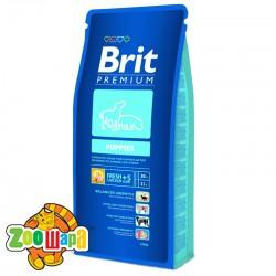 Brit Premium Сухой корм для щенков средних и крупных пород Puppies (15 кг)