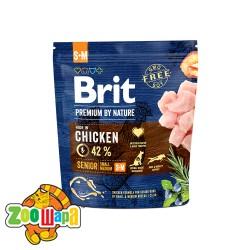 Brit Premium Senior S+M (1 кг) cухой корм для стареющих собак мелких и средних пород