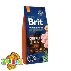 Brit Premium Sport (15 кг) cухой корм для собак с повышенными физическими нагрузками