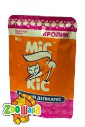 МиС КиС с кроликом 100г, пауч