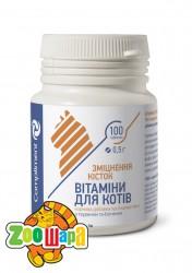 """Compliment витамины для котов """"Укрепление зубов и костей"""" 100 шт, 0,5г"""