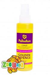Palladium Golden Defence cпрей антипаразитарный для собак, кошек и грызунов 100 мл