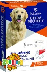 Palladium Ultra Protect ошейник противопаразитарный (+флуметрин) для больших собак, 70 см синий