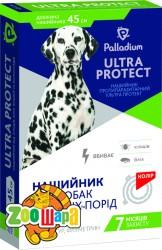 Palladium Ultra Protect Ошейник от блох и клещей для средних собак (45 см, красный)
