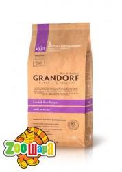 Grandorf Adult Large Breed ягненок с рисом для взрослых собак крупных пород, 3кг