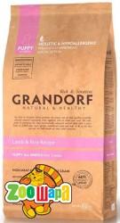 Grandorf Puppy - ягненок с рисом для щенков, 12 кг