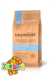 Grandorf White Fish & Rice All Breeds - белая рыба для взрослых собак, 12 кг