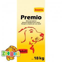 Josera Сухой корм для взрослых собак средних и крупных пород Premio Adult  (18 кг)