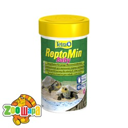 Tetra ReptoMin Baby 100ml корм для маленьких водных черепах