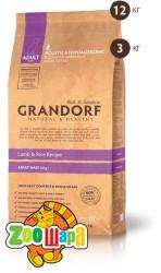 Grandorf Grandorf Sensitive Care Holistic Lamb & Rice Adult Large Breed(ЯГНЕНОК С РИСОМ ДЛЯ КРУПНЫХ ПОРОД С 1 ГОДА) , 12 кг