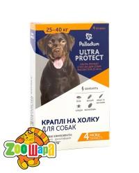 Palladium Ultra Protect КАПЛИ НА ХОЛКУ ULTRA PROTECT ОТ БЛОХ И КЛЕЩЕЙ ДЛЯ СОБАК ВЕСОМ 25-40 КГ