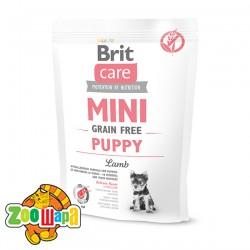 Brit Care GF Mini Puppy Lamb (400 г) сухой корм с ягненком для щенков и юниоров миниатюрных пород