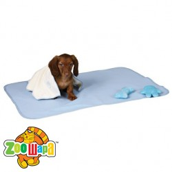 Trixie Набор д/щенка коврик+полотенце+2игрушки, голубой