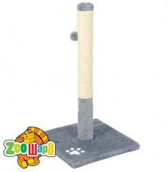 Природа Дряпка для кота Д01 столбик (66 см, серый)