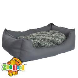 Compliment Лежак-диван для собак ДЕСЯТОЕ КОРОЛЕВСТВО (размер: 70х52х18 см) серый