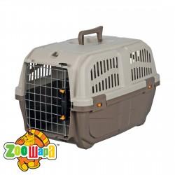 """Trixie Переноска для собак """"Skudo 2"""" (размер XS-S - 35×36×55 см, до 18 кг) коричневый / песочный"""