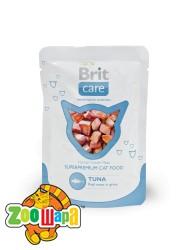 Brit Care Cat Влажный корм Тунец для кошек pouch  (80g)