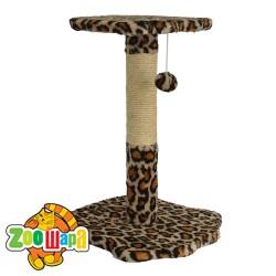 """Compliment Дряпки для кошек """"Лапа Леопарда""""(размер: Н-60 см, в Ø9 см)"""