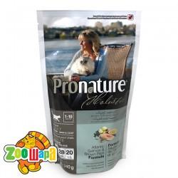 Pronature Holistic Сухой корм для взрослых кошек всех пород Adult Atlantic Salmon&Brown Rice лосось и рис (340 г)