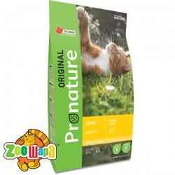 Pronature Original Сухой корм для взрослых котов Cat Chiсken с курицей (2,27 кг)