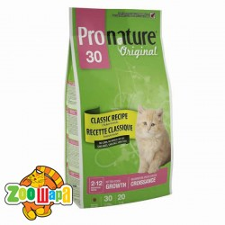 Pronature Original Сухой корм для котят Kitten Chicken с курицей (2,72 кг)
