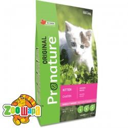 Pronature Original Сухой корм для котят Kitten Chicken с курицей (2,27 кг)