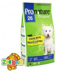 Pronature Original Сухой корм для взрослых собак средних и малых пород Adult Small & Medium с курицей (7,5 кг)