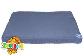 Compliment Лежак-матрац для собак ОКЕАН (размер:88х61х6,5см) голубого цвета со съемным чехлом на змейке