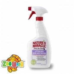 8in1 Устранитель запаха для кошачьих туалетов, спрей Nature's Miracle 8in1, 709ml