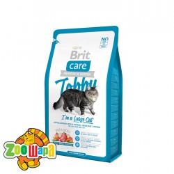 Brit Care Cat Tobby (7 кг) сухой корм с уткой и курицей для взрослых кошек крупных пород